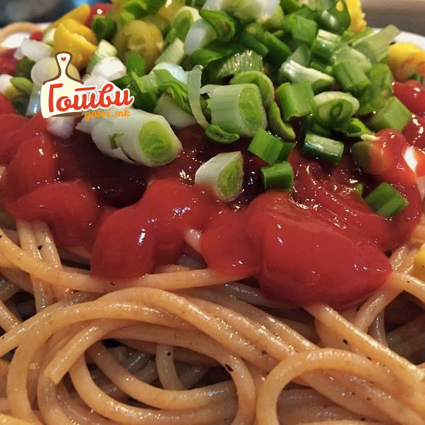 Веге шпагети