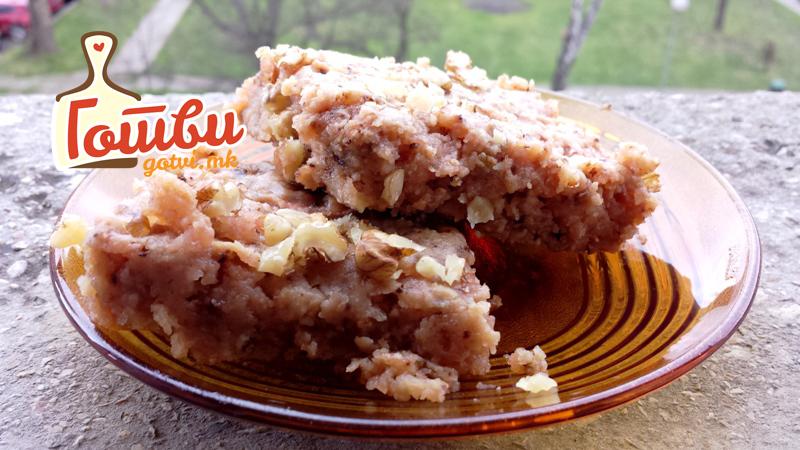 Лења пита со јаболка – брз рецепт