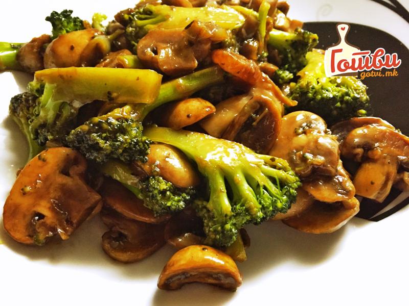 Кинеска кујна: Како да зготвите брокула со пилешко
