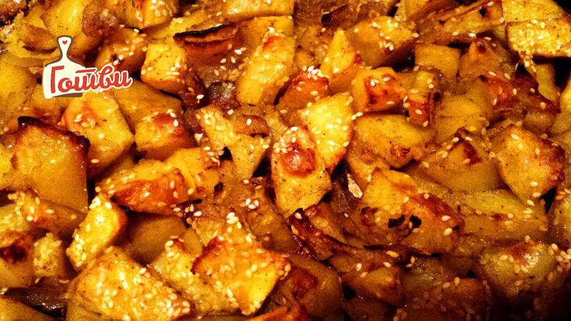 Одличен прилог: Печен компир со рузмарин