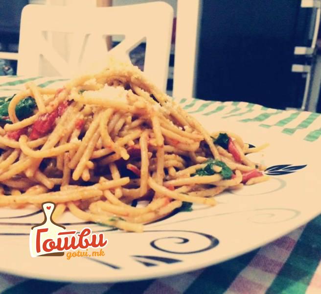 Ориентални шпагети
