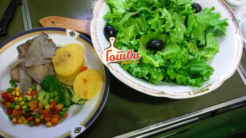 Посен ручек со свежа буковка
