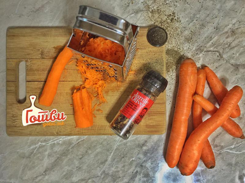 Свежа морков салата