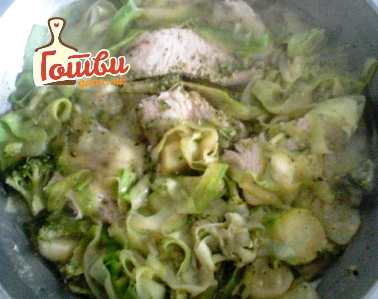 Зелен ручек