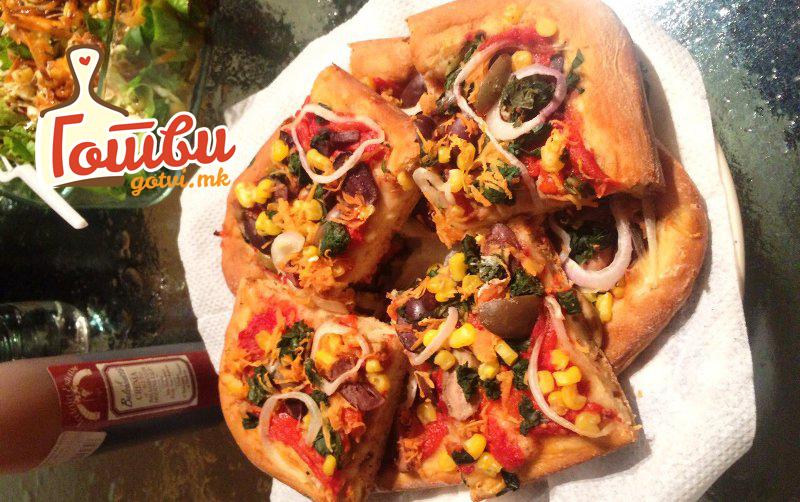 Ви здодеа вообичаениот начин на подготовка на пица? – направете Пица ролат