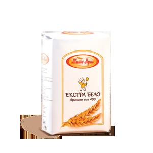 Екстра бело брашно тип 400 Жито Лукс