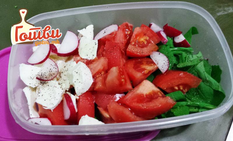 Зеленчукова ужинка за на работа