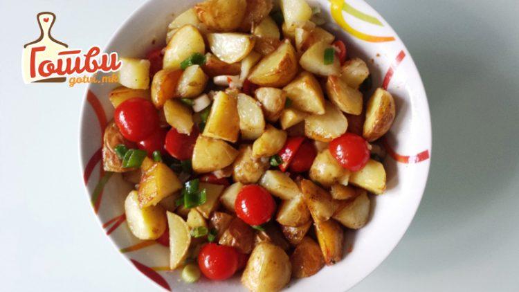 Компир салата со пченка – совршен додаток на трпезата