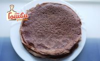 Чоко палачинки со ванила и јагода 2