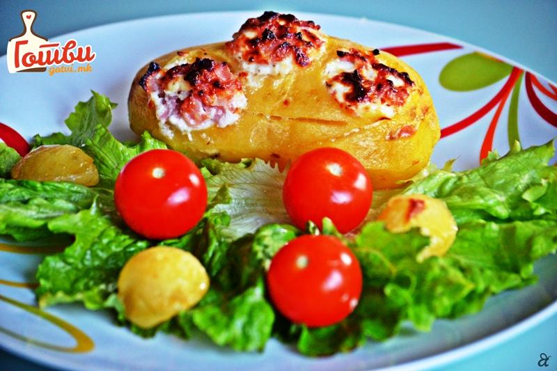 Солен деликатес: Две состојки за полнет компир од соништата