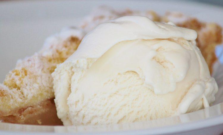 Ванила сладолед – Нема јајца во смесата