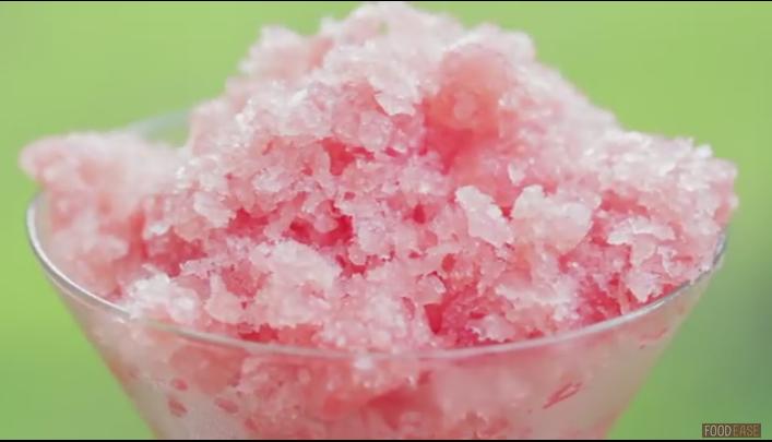 ВИДЕО: Гранита од лубеница – десерт за врелите летни ноќи