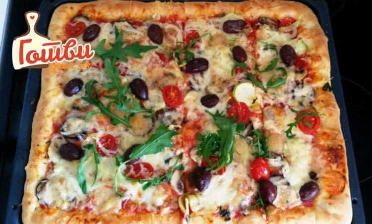 Домашна веге пица – рецептот кој сите ги освои