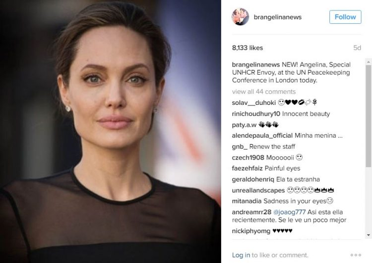 ФОТО ГАЛЕРИЈА: Анџелина Џоли блеска во својата хумана мисија