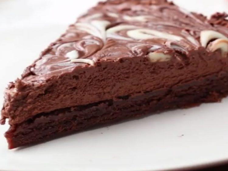 Чоколадна мус торта
