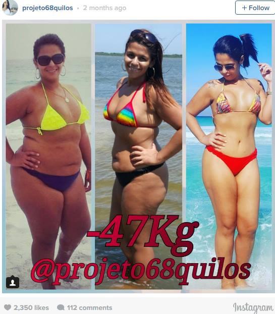 ФОТО: Таа е Инстаграм Ѕвезда – ослабе 47 килограми и сега изгледа вака!