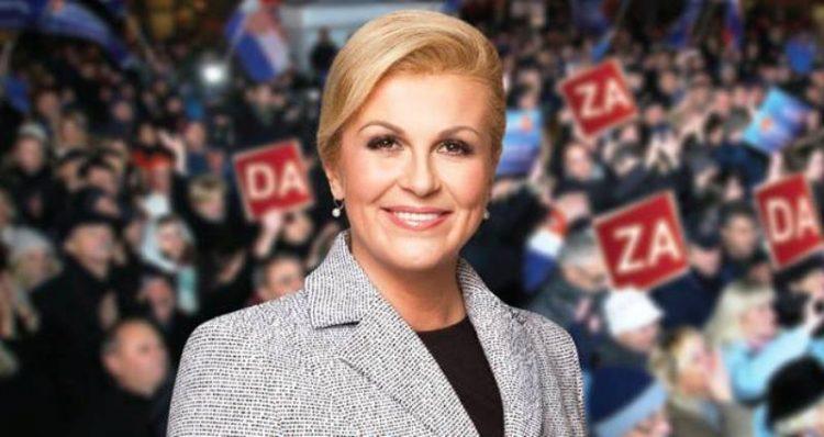 ФОТО: Хрватската претседателка погрешно се ракуваше со Кралицата