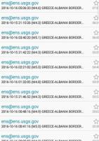 PSC земјотреси меѓу Албанија и Грција (16.10.2016 година)