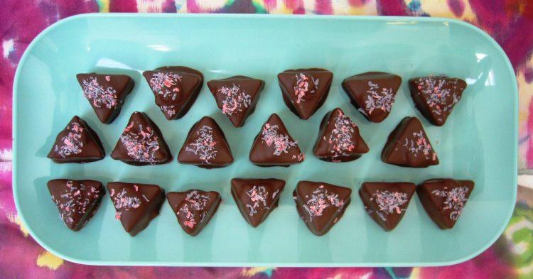 Брзи и евтини чоколадни триаголници