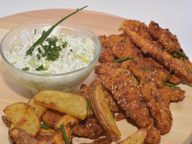 Вкусно и крцкаво пилешко со сусам: Се спрема во рерна за помалку од 30 минути