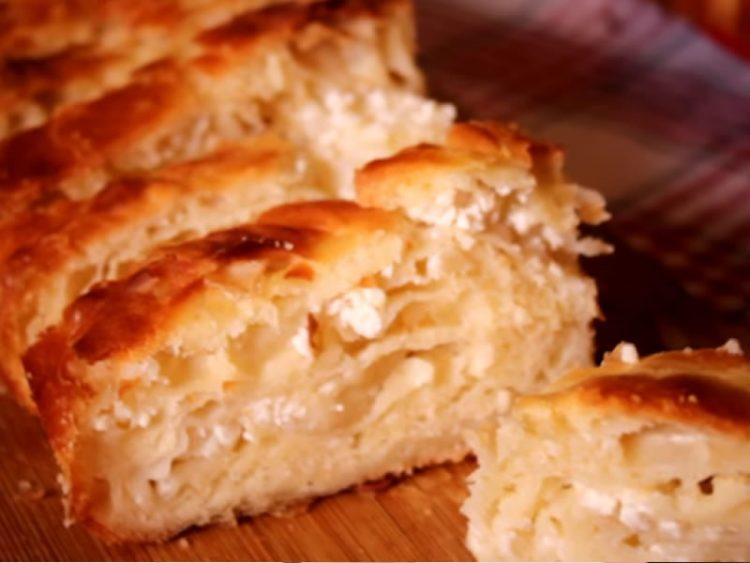 Оригинален рецепт за гибаница со сирење и кајмак