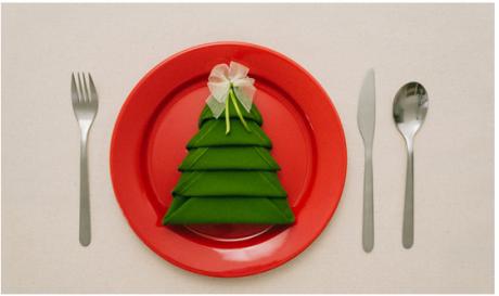 ФОТО: Направете новогодишна декорација со една салфетка