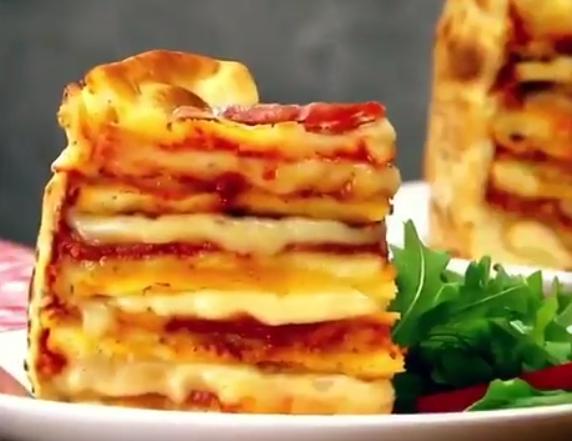 ВИДЕО: Што е повкусно од пица? – Торта од неа, прав деликатес
