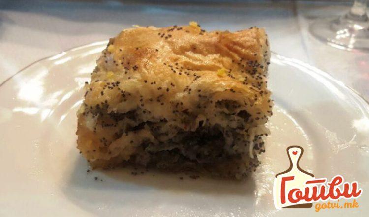 Баклава со мак – Неодолив вкус, а едноставен рецепт
