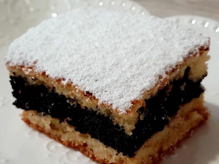 Торта со мак и ореви за празниците (Посен рецепт)