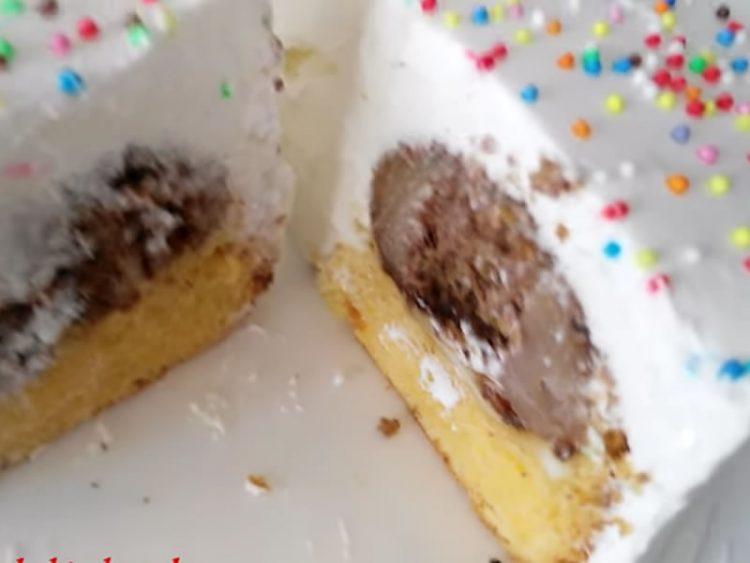 Брз колач со јаболка и шлаг (ВИДЕО)
