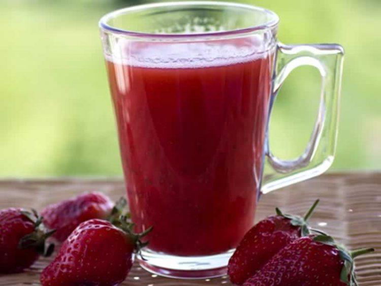 """Повкусно од сок и смути: """"Црвена лејди"""""""
