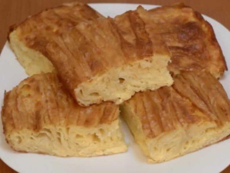 Меки квадрати полни сирење – Пита на поинаков начин