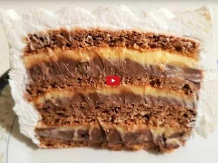 Царица на тортите: Милка торта полна чоколадо