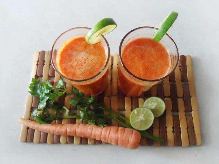 Моркови и лимон во чаша – Смути за енергија и витамини