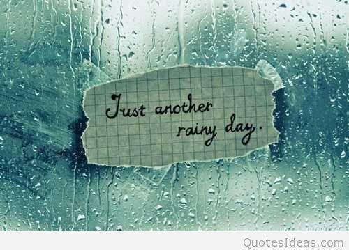 Не разбуди дожд – заладување и невреме