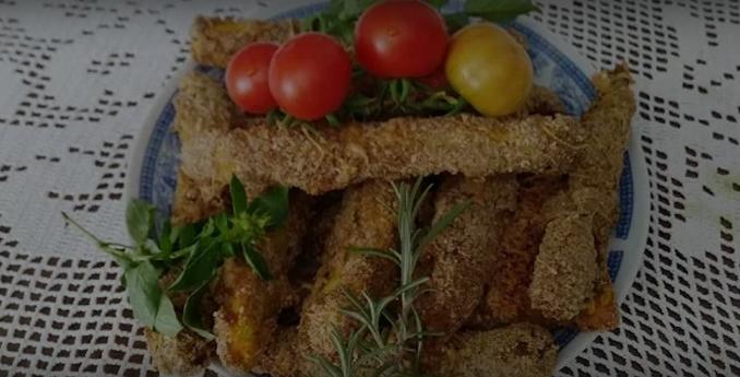 Совршено мезе: Крцкави стапчиња од тиквица