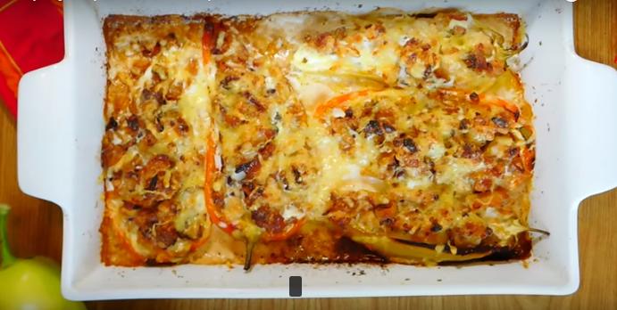 Меленото месо го замени со пилешко: Деликатесни полнети пиперки
