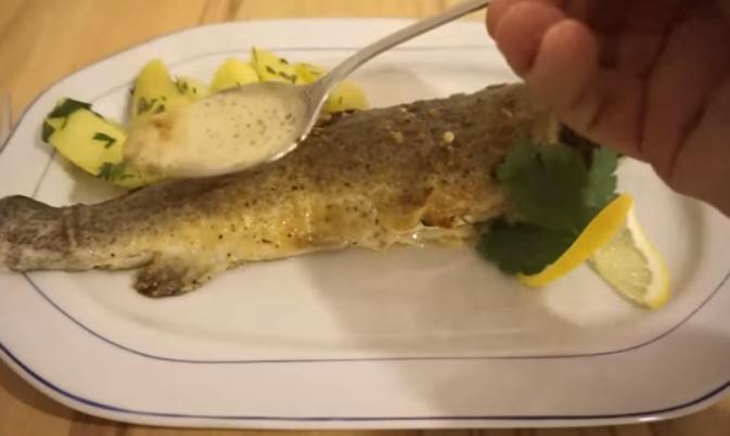 Малку време за деликатес: Риба полнета со компир
