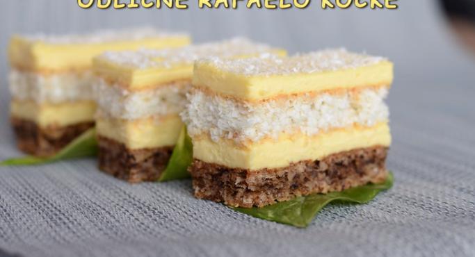 Незаменлив вкус на кокос: Рафаело коцки