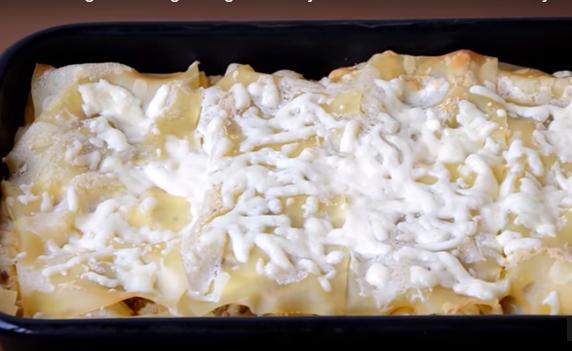 Видео деликатес: Лазања со пилешко и јогурт