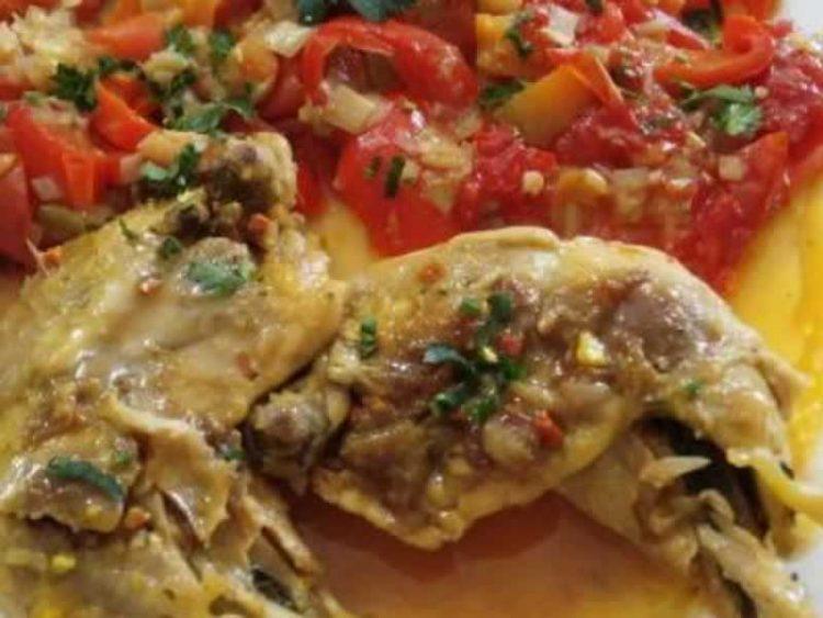 Вкусен ручек на маса: Пилешко со зеленчук