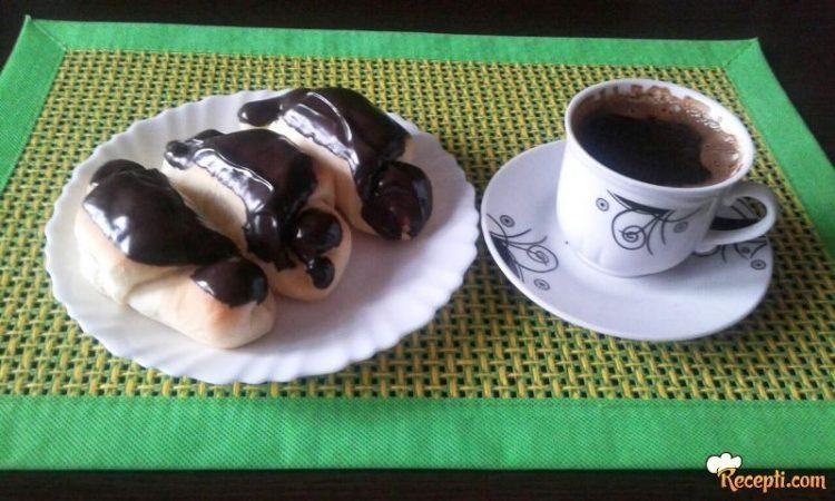 Чоколадни кифлички – Совршени со шолја кафе