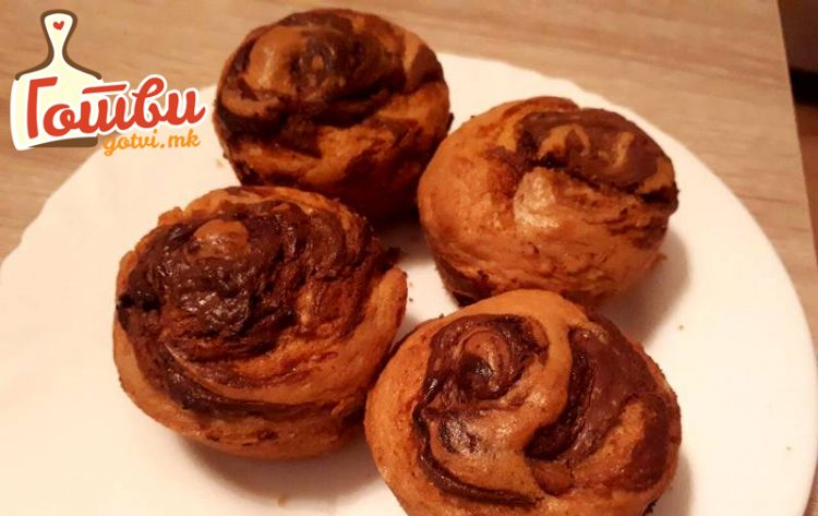 Нутела мафини – Рецепт кој ќе ги освои сите, особено децата