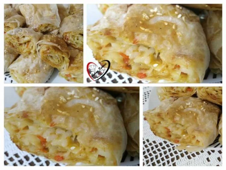 Неизоставен дел од славската трпеза: Посна пита со ориз и праз (Видео)