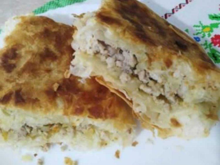 Залиена пита со месо и јогурт: Турско предјадење број 1