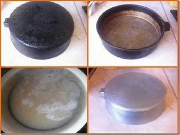 Ова сигурно не го знаевте: Како да отстраните загорена храна од тенџере на најлесен начин