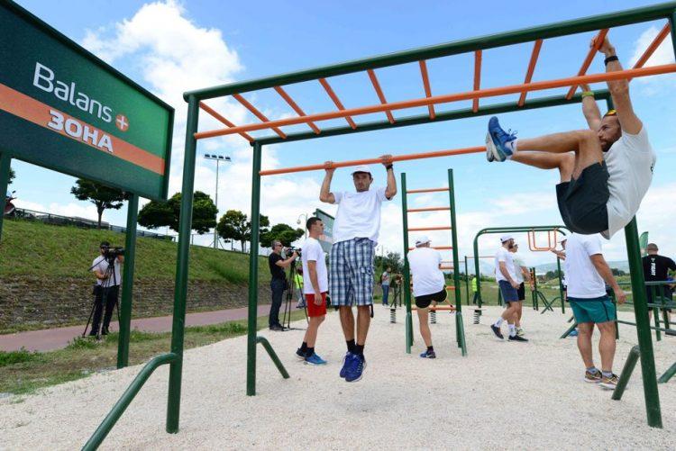 Бимилк подари ново место за спорт и рекреација во Карпош