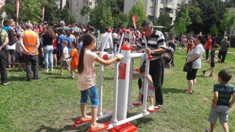 Граѓаните на општина Чаир добија ново место за дружење, спорт и рекреација