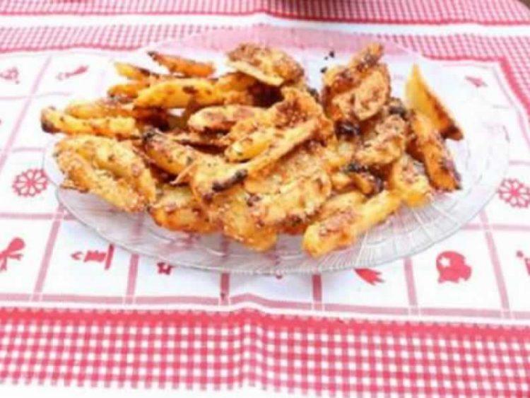 Крцкави компирчиња од рерна (Видео)