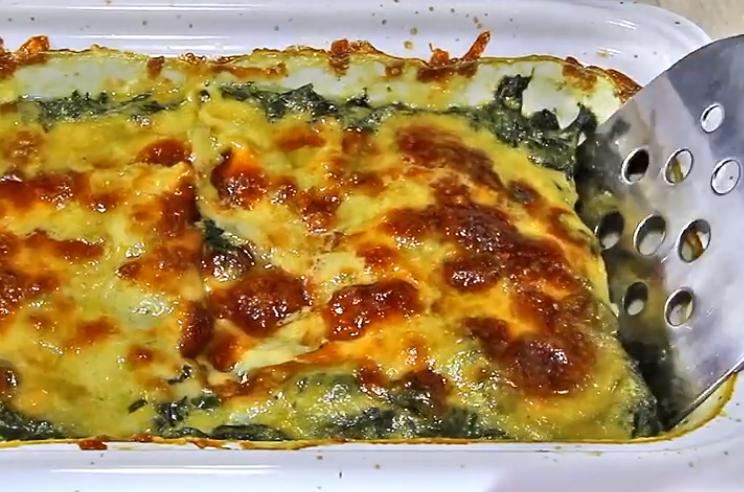 Запечен спанаќ од рерна со сирење: Ова јадење ќе ве воодушеви